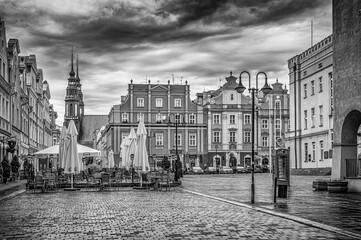 uliczki Starego Miasta w Opolu