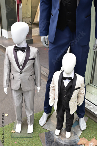 Fotografía Mannequins mode masculine