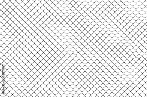 Fotografía cage metal wire on pale white background