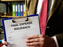 The Insurer Offers To Sign Final Expense Insurance.