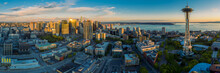 Seattle Cityscape Panorama