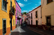 Callejones de Guanajuato arquitectura mexicana