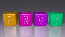 Envy Arranged By Cubic Letters...