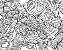 Seamless Pattern, Hand Drawn O...