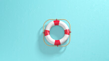 Lifebuoy Ring Or Life Saver Ri...