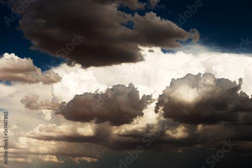 Photo Desert Cumulonimbus Approach
