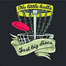 Funny Disc Golf Tee Vector Des...