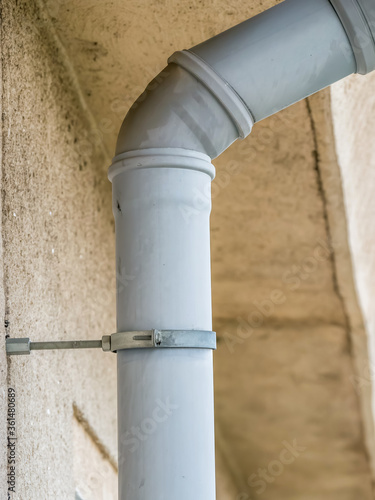 Close up with a drain system installation Canvas-taulu