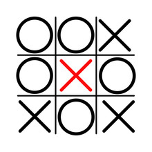 Tic Tac Toe Icon In Different ...