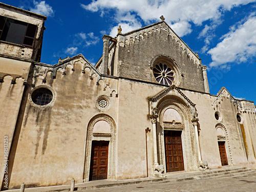 Italy, Apulia, Galatina, the Basilica of Santa Caterina Canvas Print