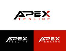 Apex Professional Modern Vector Logo Design L 100% Editable