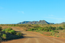 A Empty Dirt Road In The  Sout...