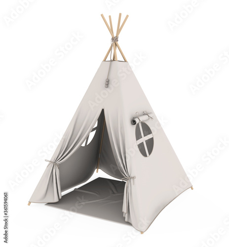 Fotomural Teepee Tent Isolated