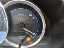 Close-up Fuel Gauge Showing Em...