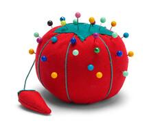 Sewing Pin Cushion Tomato