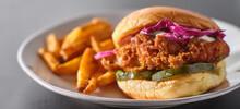 Crispy Fried Chicken Sandwich ...