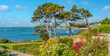 canvas print picture - Malerische Kueste bei St.Mawes, Cornwall, England, UK