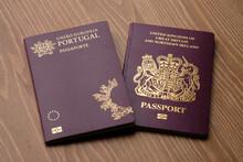 British National Oversea (BNO) Passport And Portuguese Foreign Passport