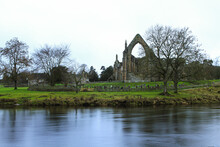 Bolton Abbey In A Cold Afternoon Od December