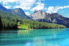 Emerald Lake In Yoho National...