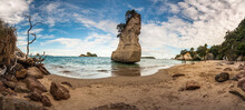 Cathedral Cove Beach In Coroma...