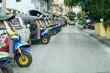 Tuktuk Thailand At Train Stati...