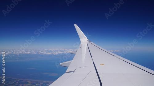 Photo Blick aus Flugzeug, irgendwo richtung London