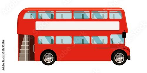 Valokuvatapetti Double-decker bus