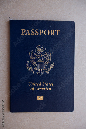 Valokuva United States of America Passport with electronic travel document symbol