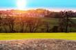 Kolorowy krajobraz