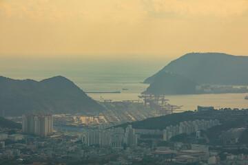 beautiful city busan, korea
