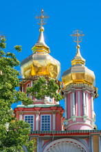 Russian Orthodox Church With G...