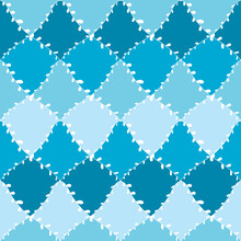 Seamless Pattern Abstract Dood...