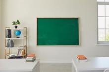 White School Classroom Interio...