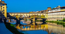 Reflection Of Ponte Vecchio Fl...