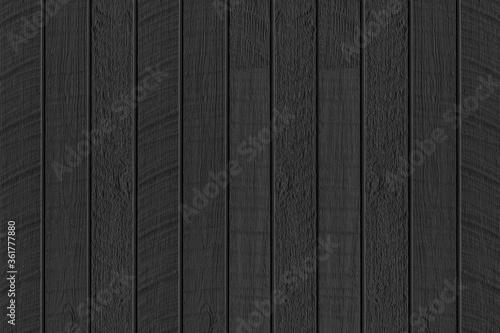 Fototapeta Black wood texture background. Abstract dark wood texture on black wall. Aged wood plank texture pattern in dark tone obraz na płótnie