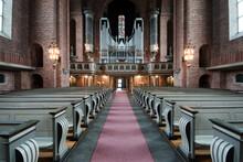 The Interior Of Swedish Church...