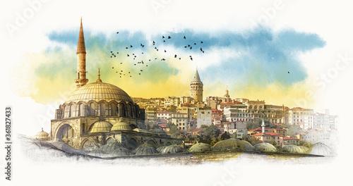 Canvas Print Hagia Sophia
