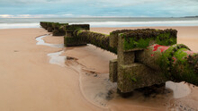 Disused Wast Pipe On Blyth Bea...