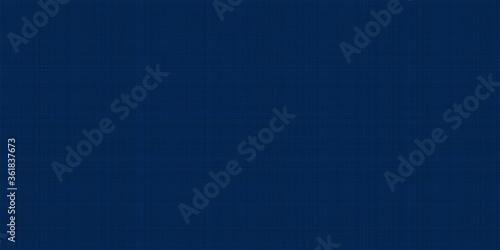 Photo Abstract illustration dark blue fabric texture background.