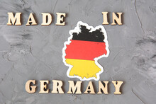 Inscription Made In Germany Wi...