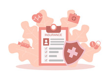 Medical Insurance Vector Flat ...