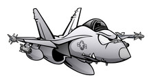 Military Fighter Attack Jet Ai...
