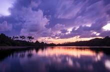 Breathtaking Scenery Of The Su...