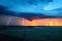 A Lighting Storm On The Great ...