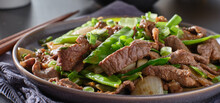 Chinese Beef And Snowpeas Stir...