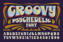A Groovy Hippie Style Psychede...