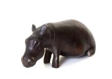 Hippopotamus Trinket In Studio