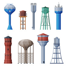 Water Towers Collection, Liqui...