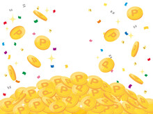 Pile Of Points Gold Coins